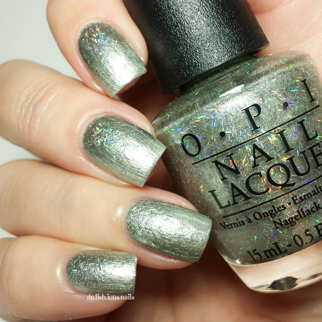 OPI Starlight – De-Lish-ious Nails