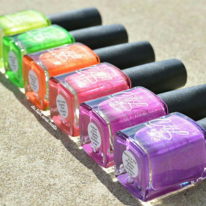 CbL Hypnotic Polish Time To Chill Collection 1