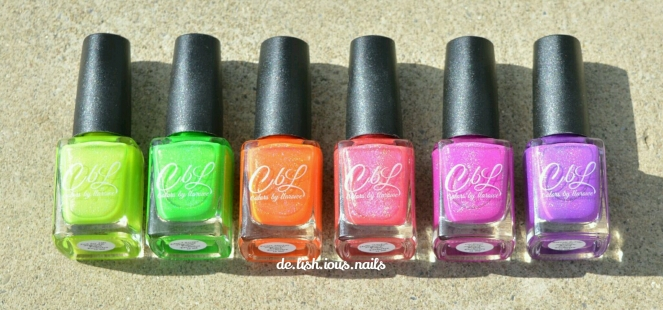 CbL Hypnotic Polish Time To Chill Collection 2
